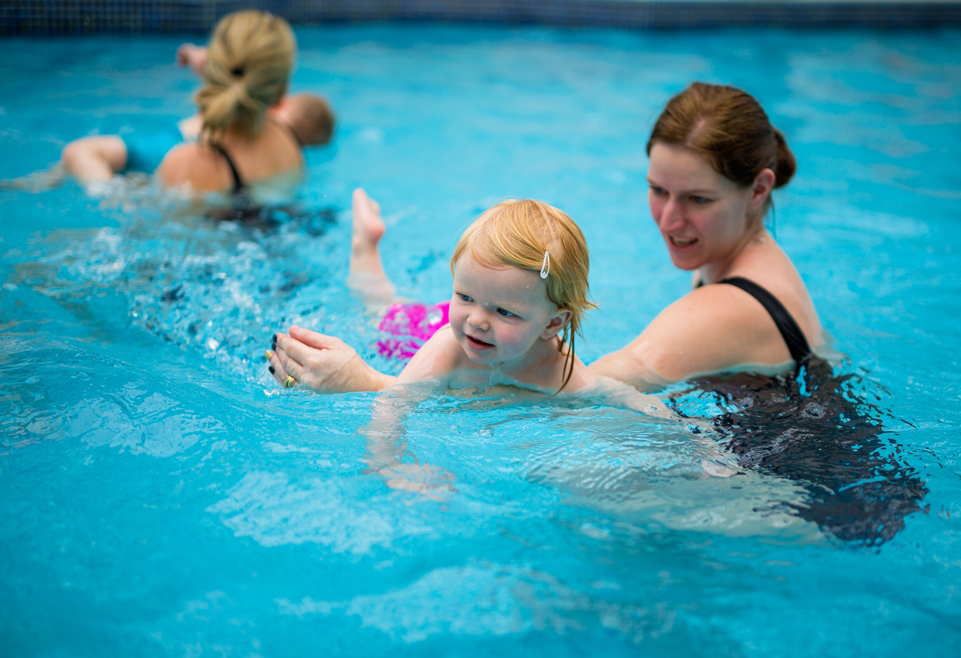 Toddler swimming lessons South West London