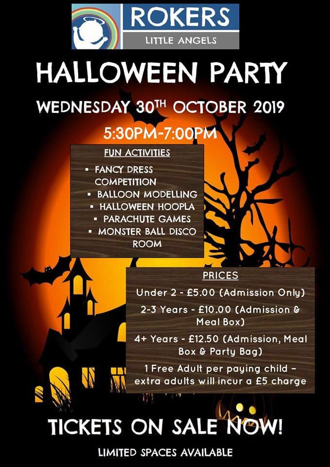 Little Angels Halloween Party 2019